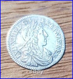 Louis XIV 1/12 d'écu 1660 A