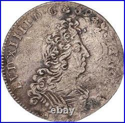 Louis XIV 1/12 écu aux Insignes 1702 A (Paris)