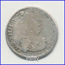 Louis XIV 1/12 écu aux insignes 1702 P Dijon