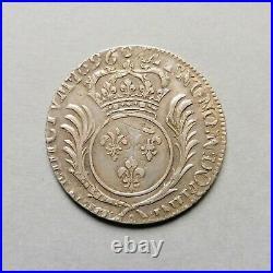 Louis XIV 1/4 Ecu aux Palmes 1696 A Paris (réf)