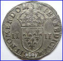 Louis XIV 1/4 d'écu 1645 M Toulouse