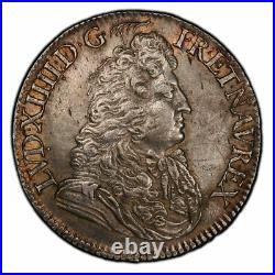 Louis XIV Demi-Ecu au Jabot 1683 Paris Superbe exemplaire très rare