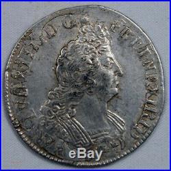 Louis XIV Demi écu aux insignes 1702 9 Rennes rf (FR1) 19P952/2