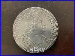 Louis XIV Ecu au trois couronnes 1709 A Paris TTB