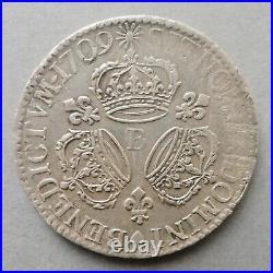 Louis XIV Ecu aux 3 Couronnes 1709 B Rouen