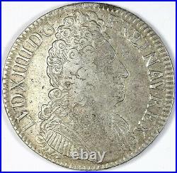 Louis XIV Ecu aux trois couronnes 1709 V Troyes