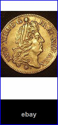 Louis XIV Louis d'or à l'écu 1690 E Rouen