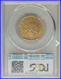 Louis XIV Louis d'or à l'écu PCGS AU53 1693 A Paris