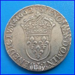 Louis XIV demi 1/2 écu au buste juvénile 1662 L BAYONNE