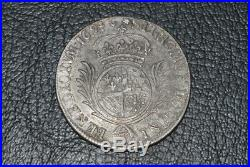 Louis XIV demi ecu dit carambole aux palmes 1694 W
