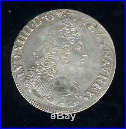 Louis XIV écu aux insignes 1703 E Tours