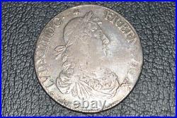 Louis XIV ecu juvenile 1664 rennes