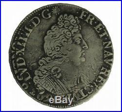 Monnaie, France, 1/2 Ecu aux 8 L 2ème type, Louis XIV, Argent, 1705, Tours (E)