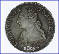 Monnaie, France, Ecu aux branches d'olivier, Louis XIV, Argent, 1784, Toulouse