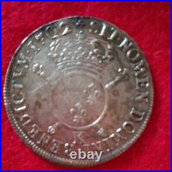 Monnaie Royale Ecu Louis XIV Argent