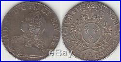 Monnaie Royale Française écu aux branches d'olivier 1726 A (Paris)