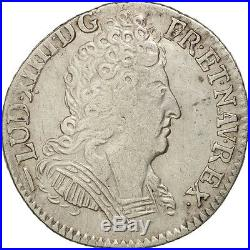 Monnaies, France, Louis XIV, 1/10 Écu aux 3 couronnes, 1715, Lille, TB+ #16605
