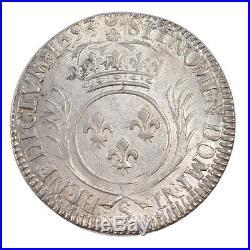 Monnaies, LOUIS XIV, 1/2Ecu aux Palmes #55642