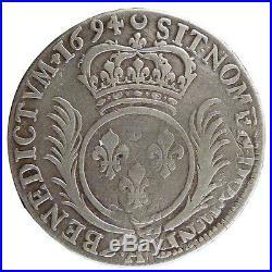 Monnaies, LOUIS XIV, ½ Écu aux Palmes #20671