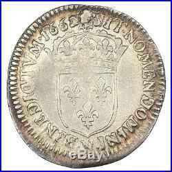Monnaies, Louis XIV, 1/12 Écu au buste juvénile #30238