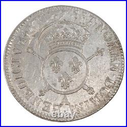 Monnaies, Louis XIV, 1/2 Ecu aux insignes #24578