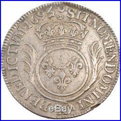 Monnaies, Louis XIV, 1/2 Ecu aux palmes #70635