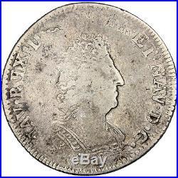 Monnaies, Louis XIV, 1/8 Ecu de Flandre aux palmes #25627