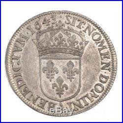 Monnaies, Louis XIV, ½ Écu à la Mèche courte #53112