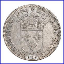 Monnaies, Louis XIV, ¼ Écu à la Mèche courte #53115