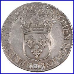 Monnaies, Louis XIV, Ecu à la cravate #24559