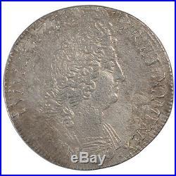 Monnaies, Louis XIV, Ecu aux 8 L second type #23896