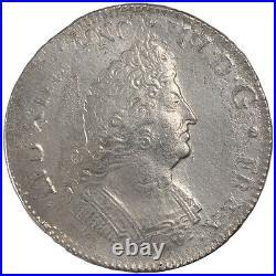Monnaies, Louis XIV, Ecu aux 8 L second type buste du type aux palmes #23894