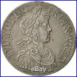 Monnaies, monnaie, Louis XIV, Écu à la mèche #453565