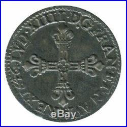 Quart d'Ecu Louis XIV 1646