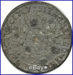 T9831 Faux d'Epoque Ecu Louis XIV 1787 Q Perpignan Faire Offre