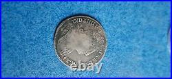 Tres Rare 1/4 Ecu Louis XIV 3 Couronnes 1711 S Reims Monnaie Argent Silver